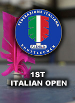 1ο Ιταλικό Όπεν Ποδοπτέρισης